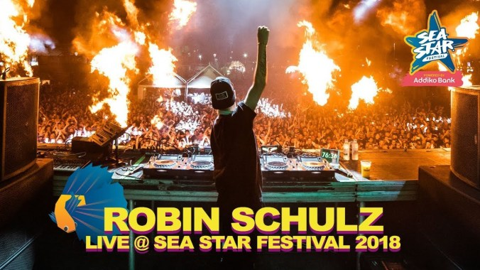 FESTIVAL HIGHLIGHTS: Robin Schulz Sugar Live @ Sea Star Festival 2018