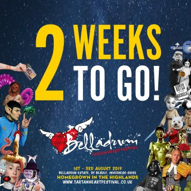 Belladrum Tartan Heart Festival  news: Wow- We can't quite believe it either!!