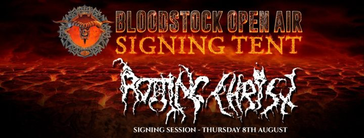 Bloodstock news:  SIGNING TENT ANNOUNCEMENT Happy to announce we will once again be opening our d…
