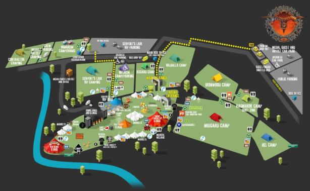 Bloodstock news: The official #BOA19 map…