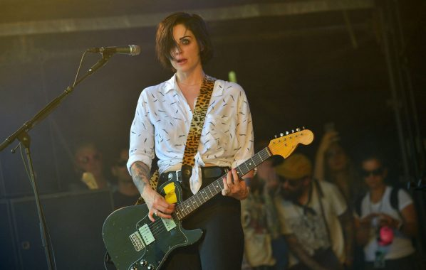 NME Festival blog: The Distillers' Brody Dalle says she saw a UFO with Juliette Lewis while soundchecking