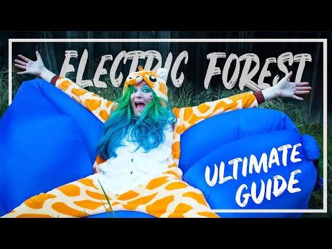 REDDIT FESTIVAL NEWS QUESTION: to everyone who went to Electric Forest, I saw this Ultimate Guide video and was wondering if you have any other tips for newbies. Thinking about going to my first forest next year!