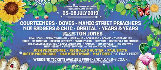 Kendal Calling returns 30 July - 2 August 2020 to celebrate 15 years in the fiel...