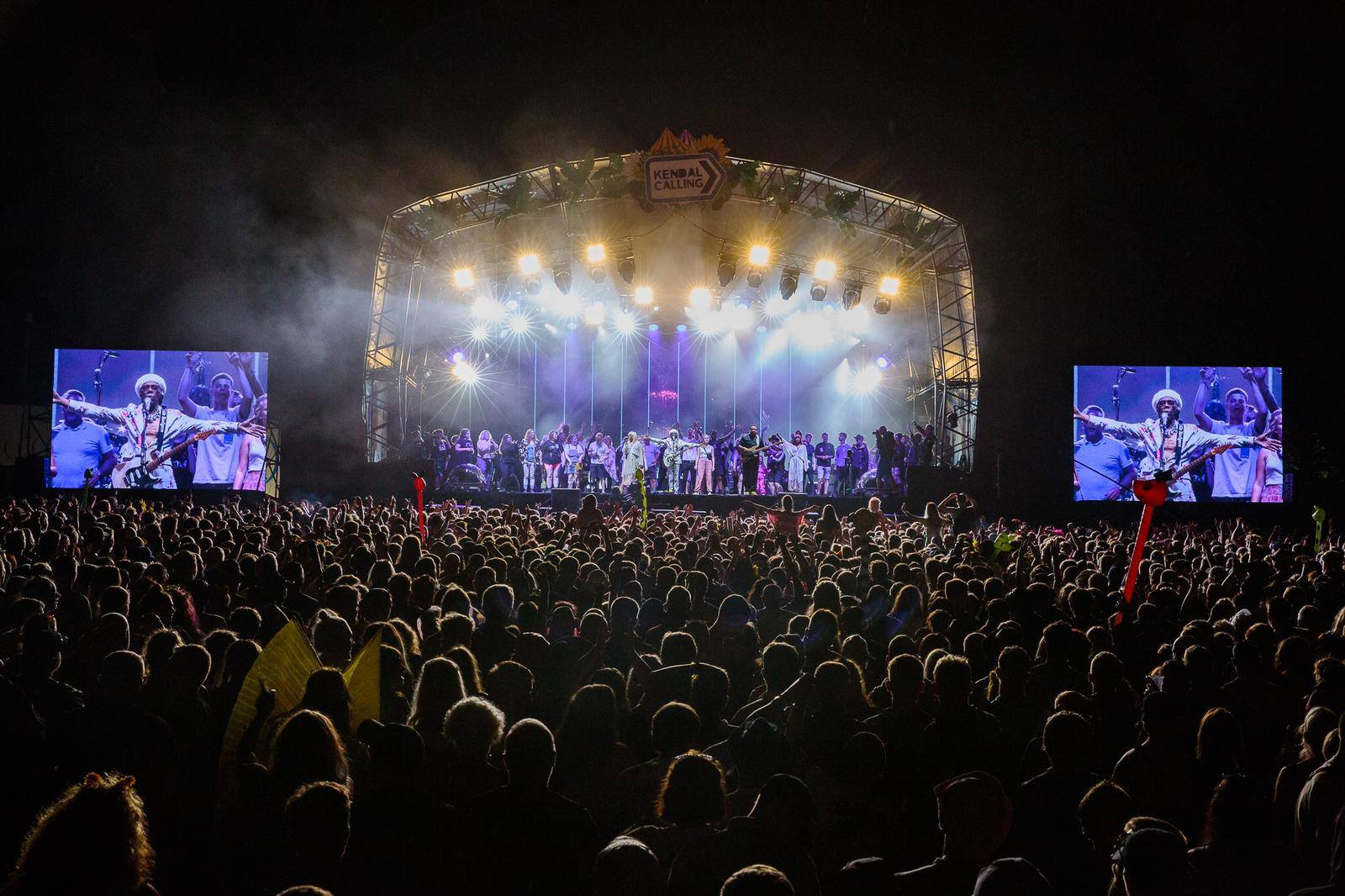 Nile Rodgers & Chic brought the good times to the fields with a euphoric Fri...