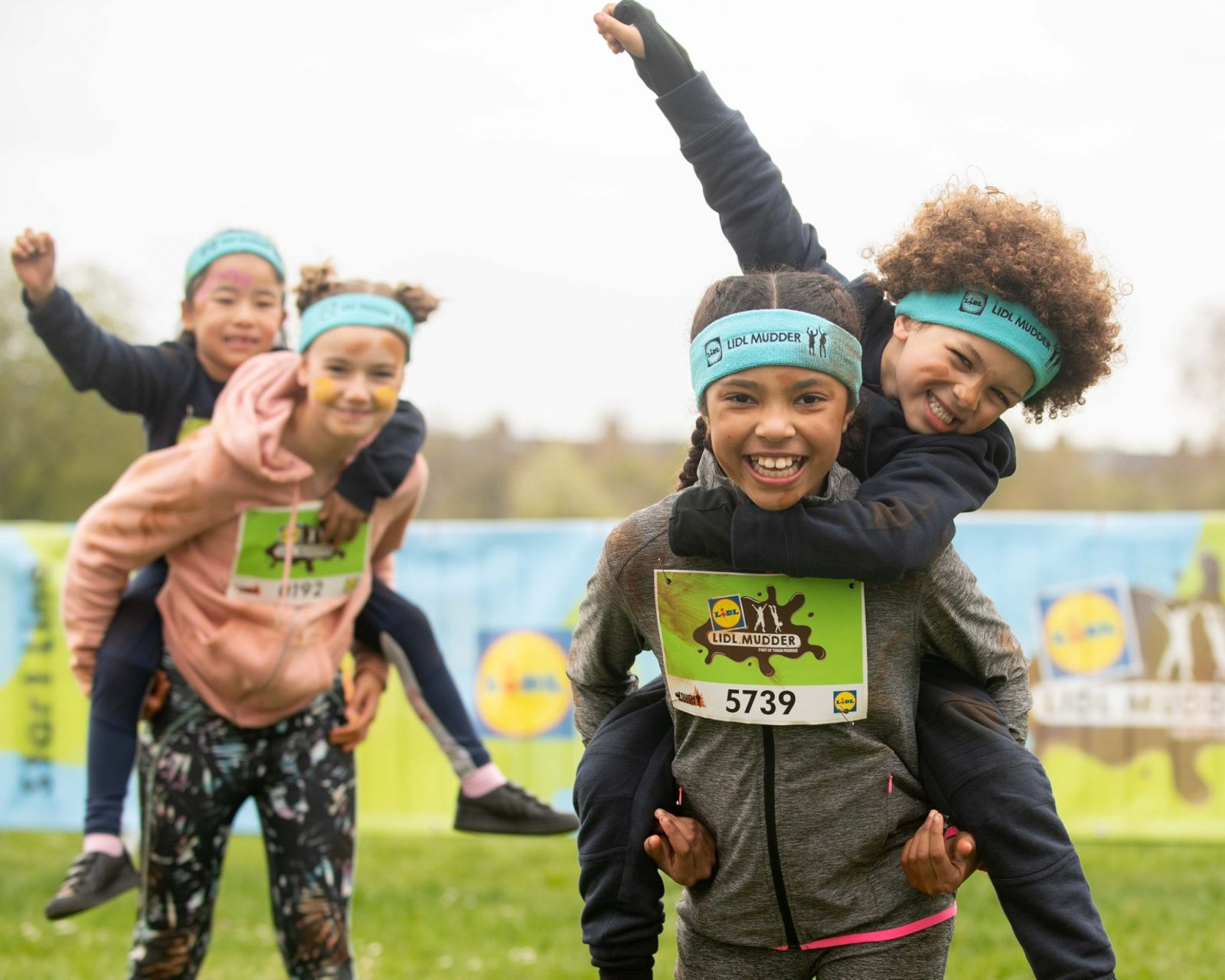We're very excited to have Lidl GB presenting their Lidl Mudder obstacle course ...
