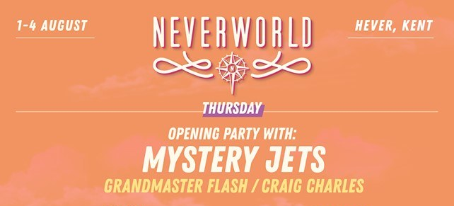 Leefest The Neverland Festival news: 2 Weeks until the Mystery Jets Official, Grandmaster Flash, and Craig Charles br…