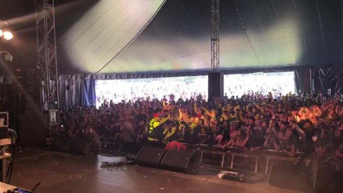 London Mela news: #throwbackthursday H-Dhami absolutely smashing set at the Godiva Festival Covent…