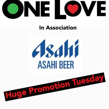 One Love Festival news: To Celebrate – The announcement of our main Drinks Partner for One Love Festival…