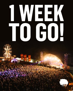 STANDON CALLING news: It's officially ONE WEEK TO GO!! Who's excited?  If you haven't sorted your tick…