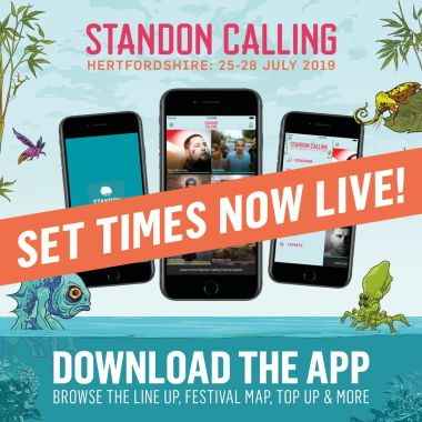 STANDON CALLING news: SET TIMES ARE NOW LIVE!  Download the app and start planning your weekend with u…