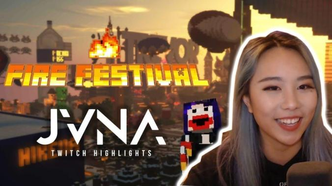 FESTIVAL HIGHLIGHTS: I Played a Music Festival in Minecraft and it was Great  [FireFest 2019]