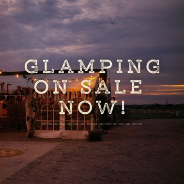 Barn on the Farm news: Right then, glampers, the time has come!! Grab your tickets for our beautiful gl…