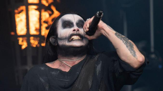 Bloodstock news: Watch Dani Filth throw axes at Bloodstock Open Air!