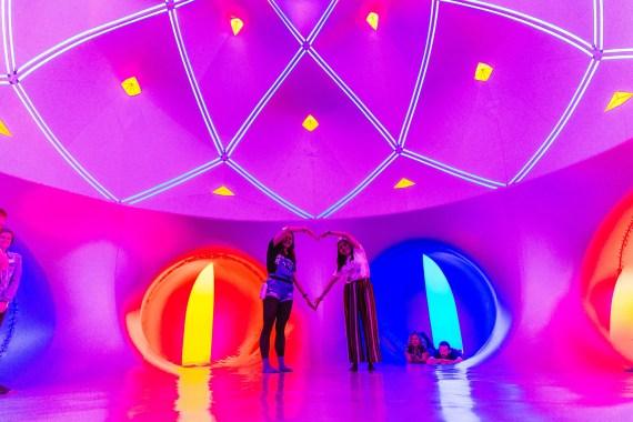 Bluedot Festival news: From outer space to inner space, the Luminarium returned to bluedot with it's re…