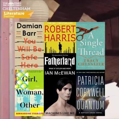 Cheltenham Festivals news :  📚 Fiction events at #cheltlitfest
