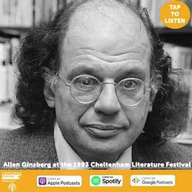 Cheltenham Festivals news :  #SevenAtSeventy Podcast: Allen Ginsberg from the 1993 Cheltenham Literature Festival