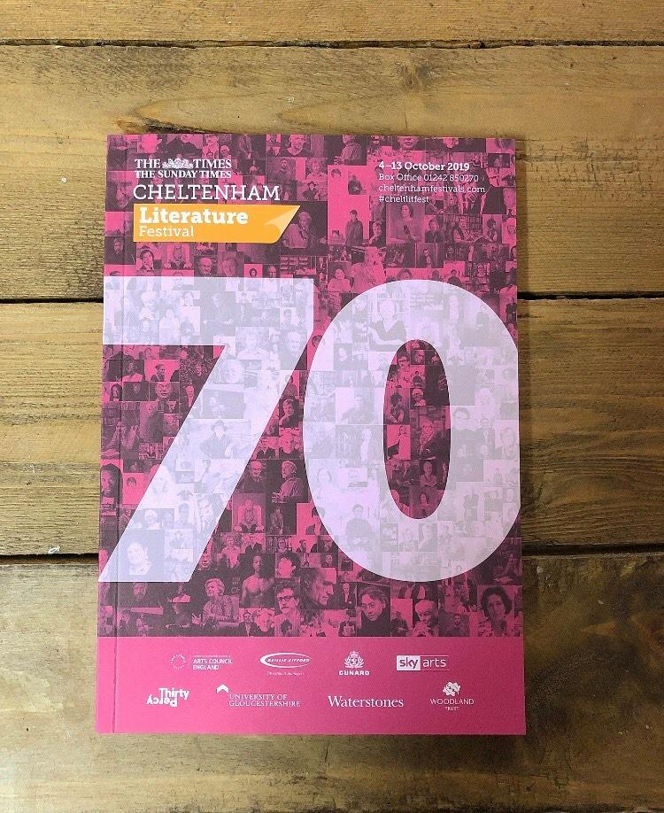 We moved 8,250 brochures to #cheltlitfest HQ this afternoon...
