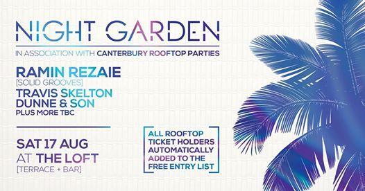 Night Garden | This Saturday!