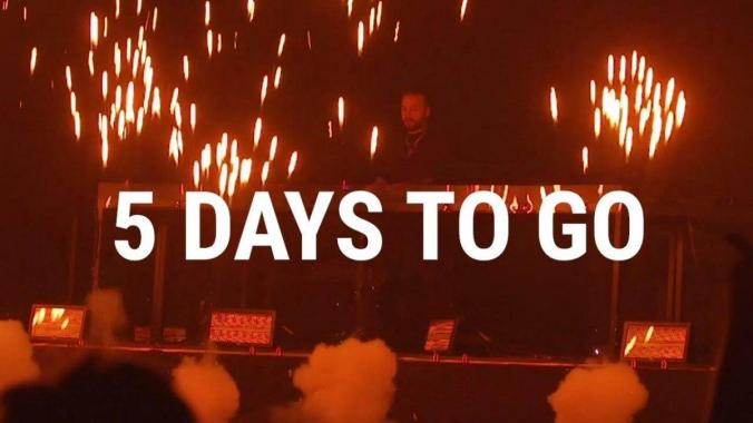 Creamfields news :  Creamfields 5 Days To Go
