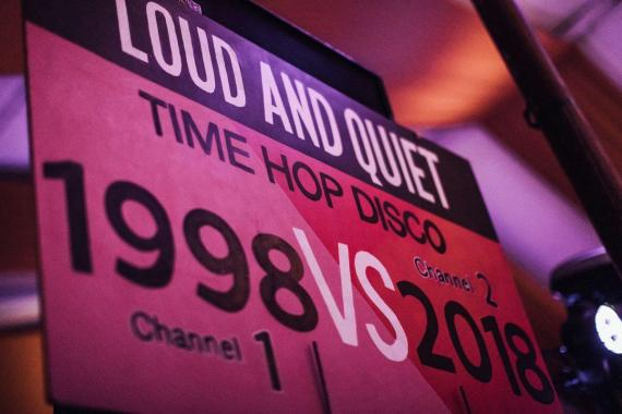 End of the Road Festival news:  Our friends at Loud and Quiet Magazine are bringing their usual Time Hop Silent