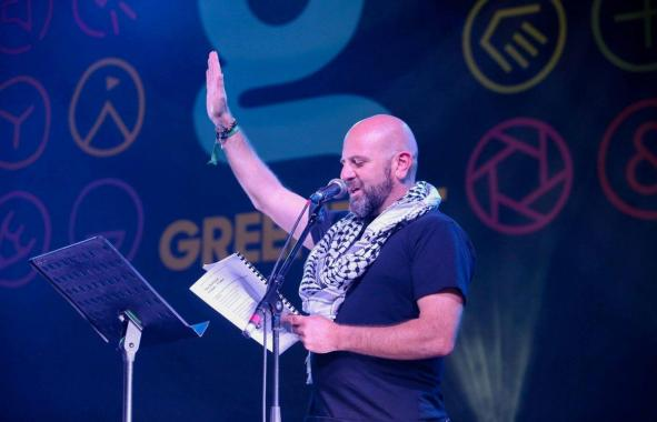 Greenbelt news : Today at Greenbelt….we celebrated Christmas! Our long-time friend Sami Awad of…