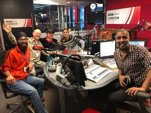 London Mela news: Interview and quick live set on BBC Radio London right now! Massive thanks to Su…