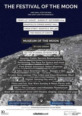 Long Division festival news : Lots happening in Wakefield as part of Festival Of The Moon – Public Service Bro…