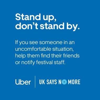 READING & LEEDS FESTIVAL NEWS:  Be a friend to someone who needs it – make sure they're okay and help them find…