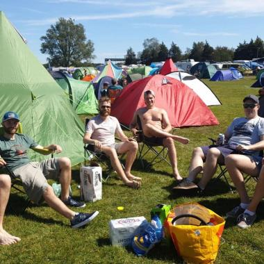 Victorious Festival news: Big hello from our happy campers! #victoriousfestival…