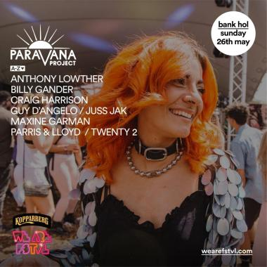 We are FSTVL news: Who's excited to party at the Paravana Project Stage on #WeAreSunday?