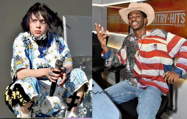 NME Festival blog: Billie Eilish ends Lil Nas X's 19-week reign at top of the US singles chart
