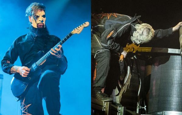 NME Festival blog: Slipknot's Jim Root praises replacement drummer 'Tortilla Man'