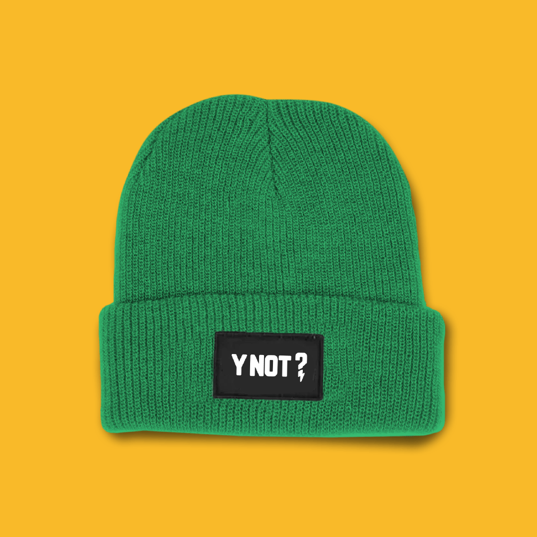 It's nearly that time of year... This winter get a limited edition Y Not beanie ...