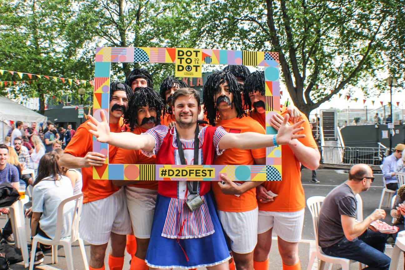 The #d2dfest frame has become a festival staple! We love seeing everyone having ...