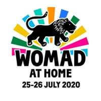 """Image may contain: text that says """"6 WOMAD AT HOME 25-26 JULY 2020"""""""