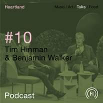 """Image may contain: 1 person, sitting, text that says """"Heartland Talks #10 Podcast H H"""""""